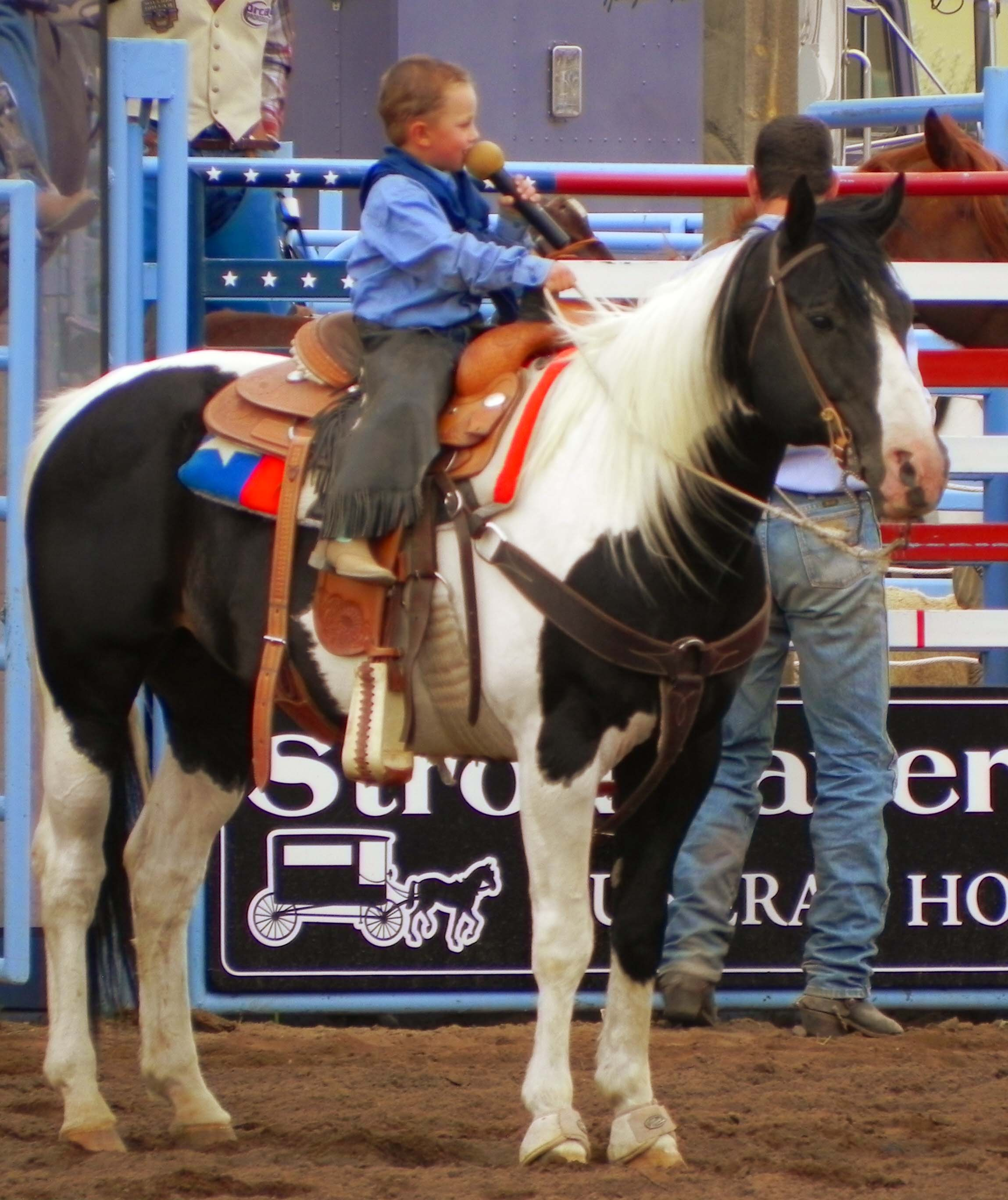 At the 2010 Alamosa Round-Up